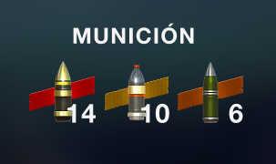 tipos de municion